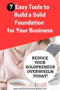 Easy Business Tools for Solopreneurs